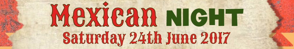 Mexican night banner for website